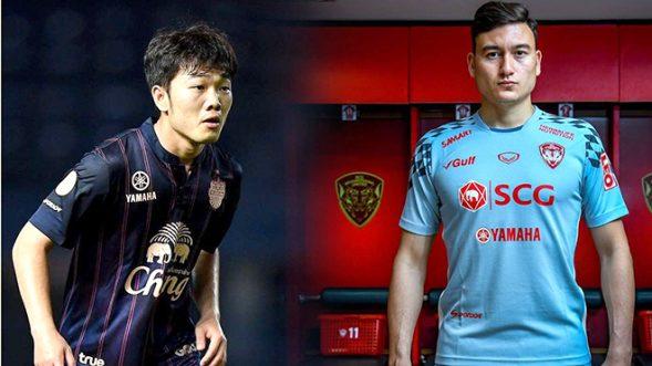 Xuân Trường và Văn Lâm đối đầu nhau tại Thai League.