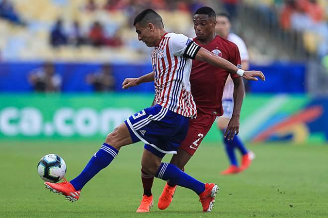 Trận đấu giữa Qatar vs Paraguay diễn ra cực kỳ hấp dẫn.