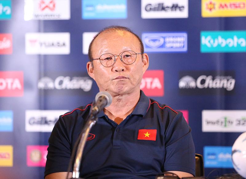 Thầy Park khá thận trọng trước trận chung kết King's Cup 2019.