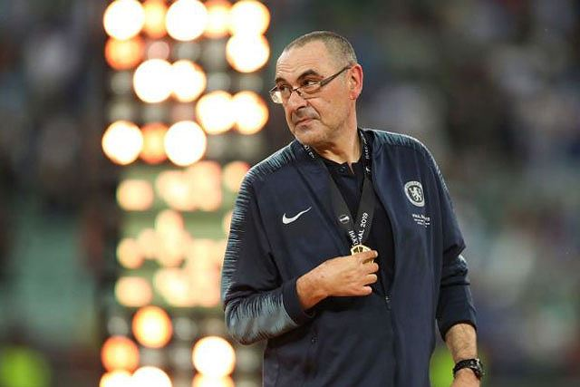 HLV Sarri sẽ rời Chelsea sau khi đăng quang chức vô địch Europa League.