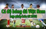 Tham gia cá cược bóng đá ở Việt Nam có hợp pháp không?